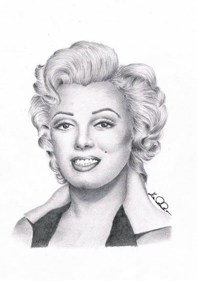 Marilyn Monroe by Ragazza